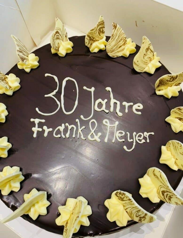 Jubiläum 2021 - 30 Jahre Frank & Meyer!